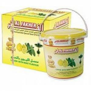 Табак для кальяна Аль Фахер микс лимон с мятой 1 кг