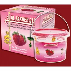 Табак для кальяна Аль Фахер клубника 1 кг